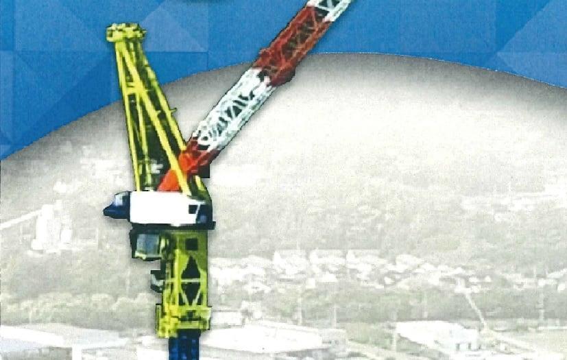 風車建設用タワークレーン