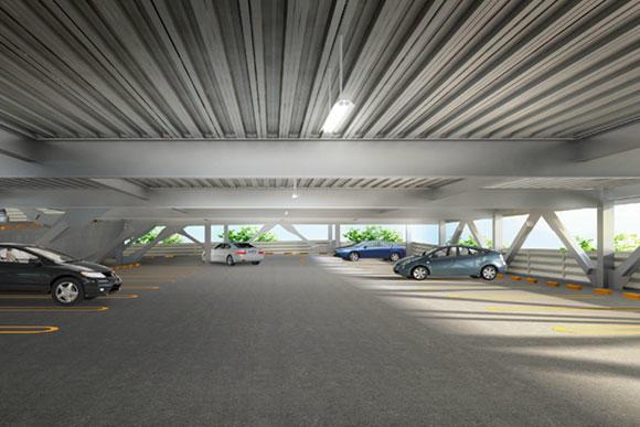 駐車場の新商品の紹介