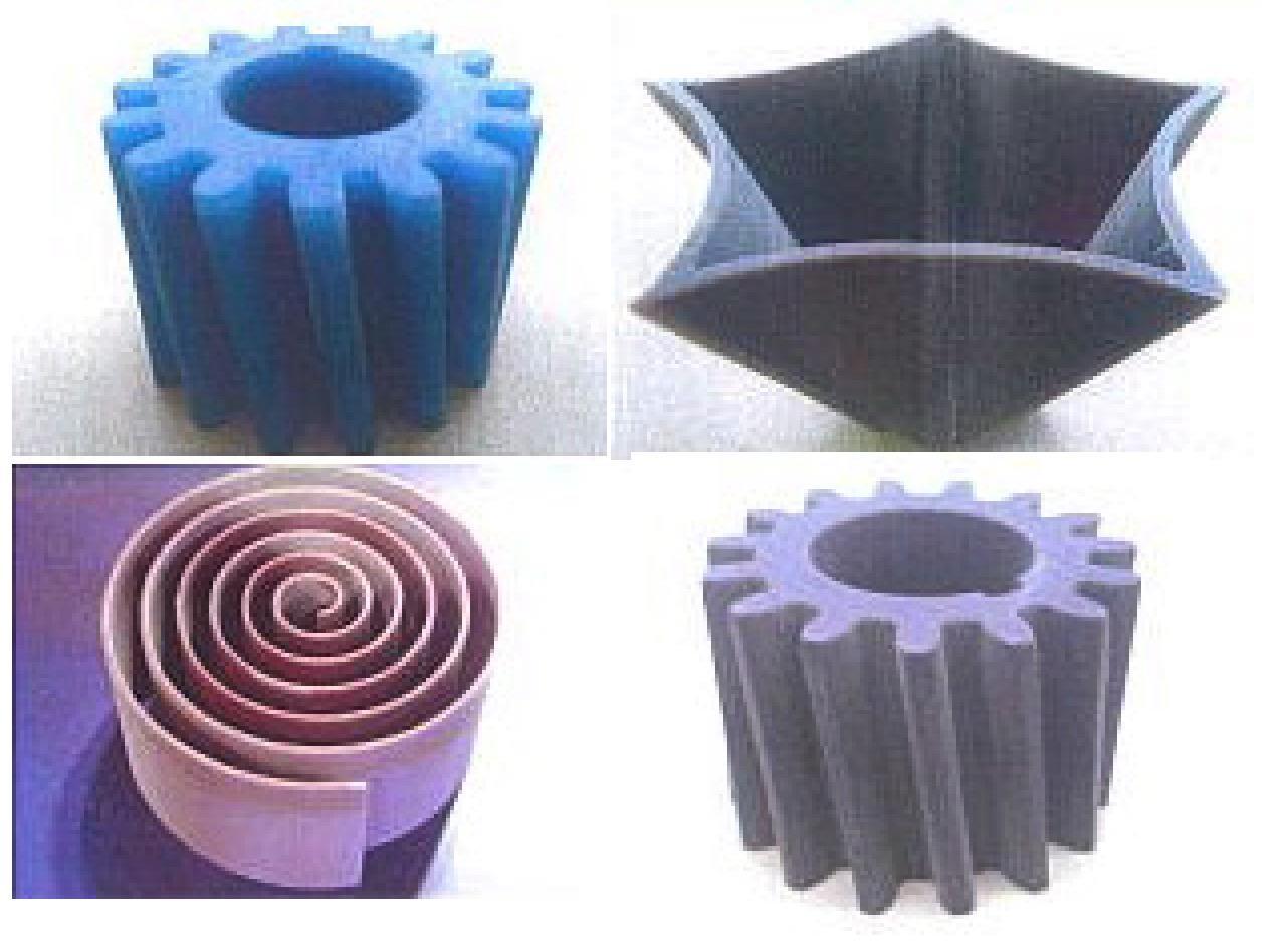 ペーザーカッターのサンプル加工品